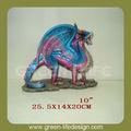 ingrosso resina drago ornamento