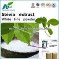 Bulk fornecimento de folha de stevia extrato efeitos colaterais 90-95%, cas.: 91722-21-3