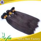 Hair cut form young girls cheap virgin remy 100% straight peruvian hair