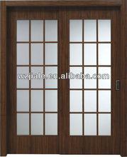 bathroom sliding glass door