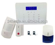 wireless burglar alarm fm digital alarm system