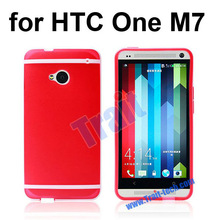 Oil Coated Frosted TPU Waterproof Case for HTC One M7
