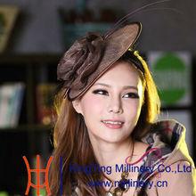 China Wholesale Fashion Hair Accessories Sinamay Fascinators