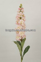 lover flower single stem silk artificial flowers vine for wedding party decoration purple