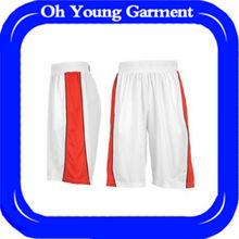 Wholesale 100 polyester Custom Basketball Short Mens
