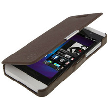 Cross Texture Horizontal Flip Leather Case for BlackBerry Z10