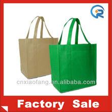 Wholesale reusable non woven handle shopping bags