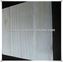 FSC paulownia finger jointed board solid kiri wood for sale