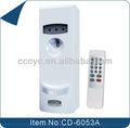 Automático de control remoto digital lcd aerosol dispensador de ambientador de aire cd-6053a