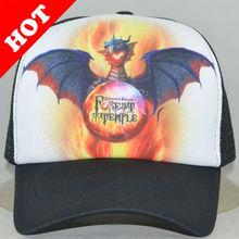 Half mesh Cap tucker hat, mesh hat