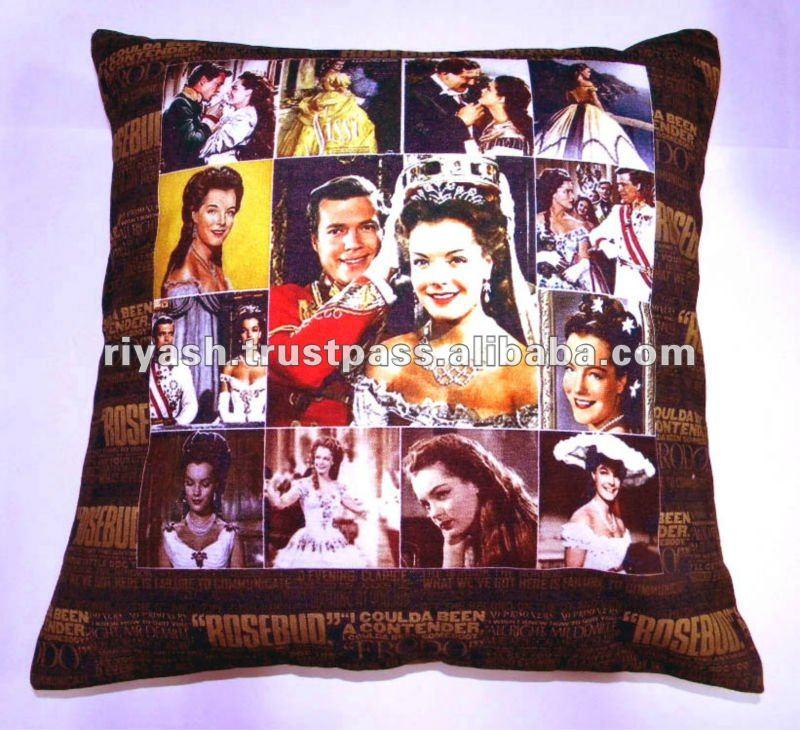 Movie Theme based Photo Print Cushion Cover