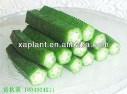 100% High Quality dried okra nutrition