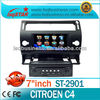 Wholesale Citreon C4 DVD Player GPS, iPod, bluetooth,TV, SWC control, usb sd, Canbus