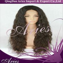 2013 stylish Fashion wavy remy human hair womens full lace wigs