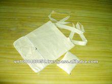 Folded cotton bag