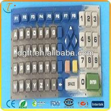 Customed Environmental rubber keyboard/ keypad