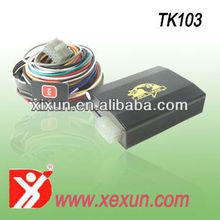 Xexun TK103-2 car alarm gps tracker arm processor gps car tracker tk103