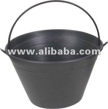 rubber cement bucket