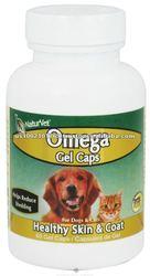NaturVet - Omega For Pets - 60 Gelcaps