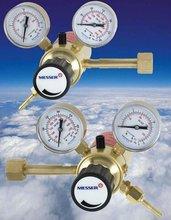 Gas regulator with heater