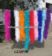 Decorative Fluffy Ostrich Feather boa LZJZF74