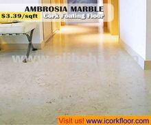 Ambrosia Marble Cork Flooring