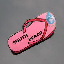 2013 Custom fancy flip flop lapel pin