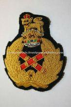 Armée britannique maréchal BULLION fil CAP BADGE seconde guerre mondiale