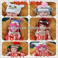 a mano a maglia animale bambino cappello uncinetto earflap inverno gufi bambino per la vendita