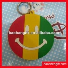 Hot product 3d/2d effect soft PVC key ring