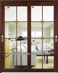 home design with grill sliding interior door