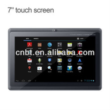 Android 4.1OS Factory price 7 inch Boxchip A13 cheap android tablets with high quality