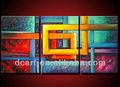 لوحات تجريدية ملونة للديكور الحديث