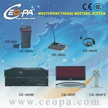 6 channels infrared language simultaneous interpretation system CE-900