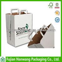 Flat Handle Cheap Paper Bag