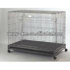 galvanized folding dog kennel/dog cage/ pet cage factory