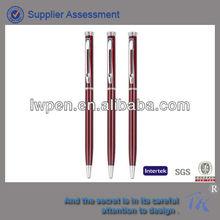 metal screw ballpoint pen