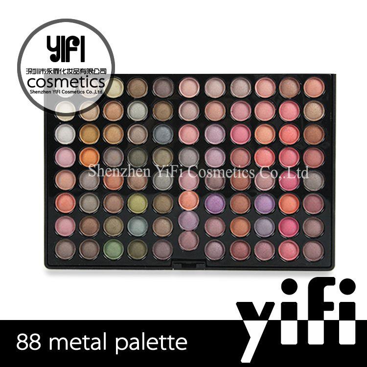 Wholesale 88 Color Eyeshadow Palette Metal natural eyeshadow set