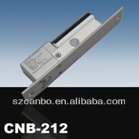 NO Mode Fail-Secure DC 12V Deadbolt Strike Electric Drop Bolt Timer Door Lock/KK