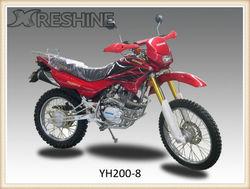 2013 hot selling red 250cc digital meter motorcycle