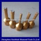 Small Diameter Diamond Core drilling bit for stone