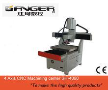 4 axis CNC machine center
