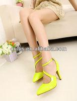 popular mature sexy women fashion high heel dress shoes PF2297