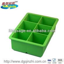 big brand design silicone ice cube tray