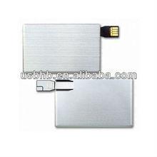 Promotion card pen drive/usb flash drive bottle opener