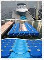 plástico barco do pontão com jet ski dock
