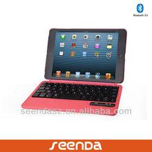 Bluetooth Keyboard Case for iPad mini/ wireless keyboard with separate cover for iPad mini