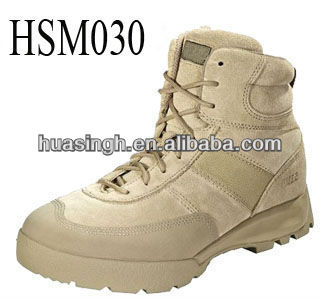 "LX, 5.11 Advance 6"" Desert Tan Side Zip Tactical Boots"