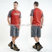Sportswear trendy khaki safari clothing wholesale mens sports shorts