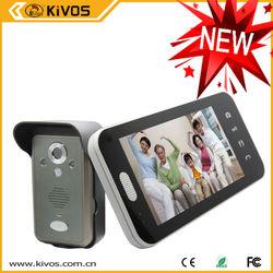 KIVOS New Arrival Door Phone Intercom Door Phone Motion Detector With 7 Inch TFT Screen